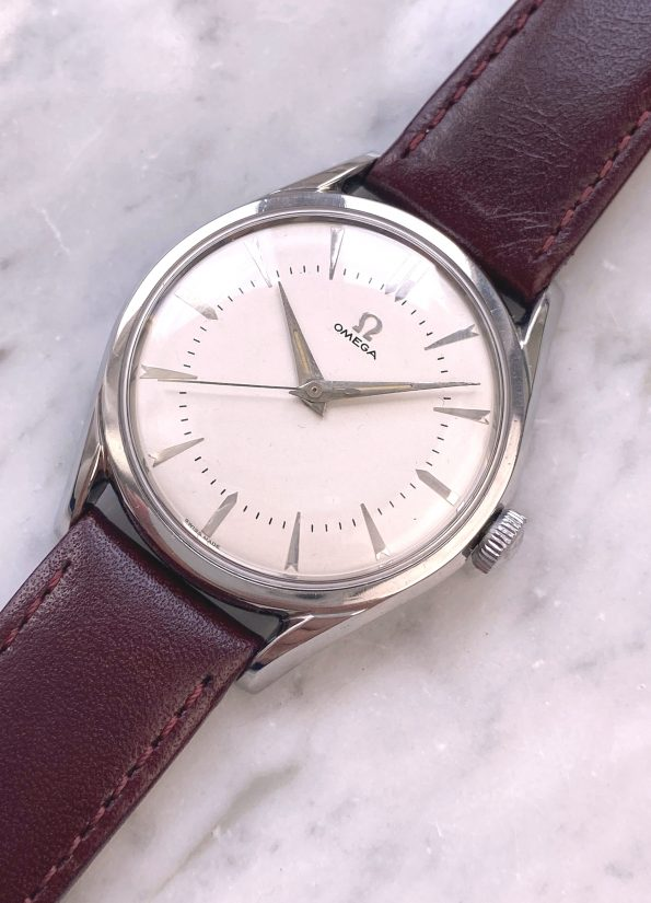 Serviced and Fully Restored Cal 284 Vintage Omega Handwinding Steel 36mm