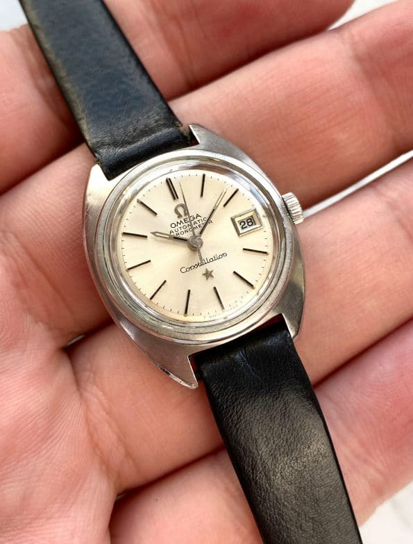 Vintage Omega Constellation Lady Ladies Automatic Chronometer