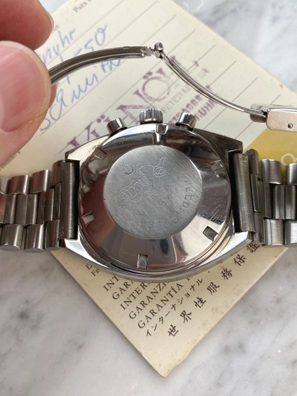 Full Set Box Papers Omega Speedmaster Mark 2 Chronograph ref 145014