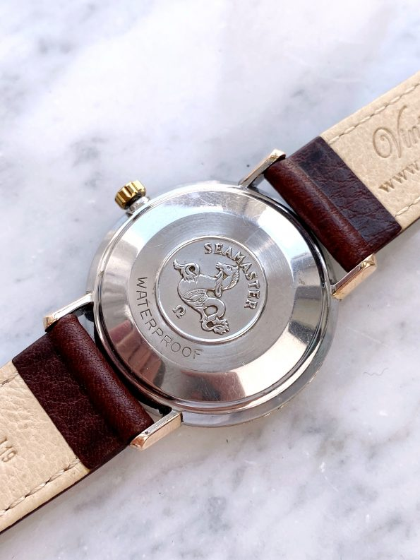 Rose Gold Plated Omega Seamaster De Ville Automatic Vintage