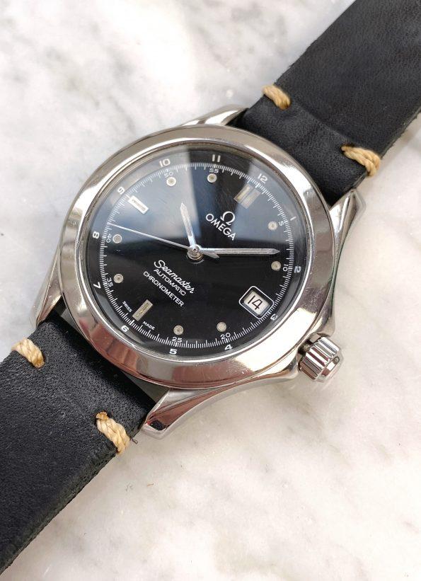 Omega Seamaster Chronometer Automatic Black Dial ref 1681501 3681501