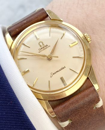 Omega Seamaster Automatic Vintage Solid Gold 18ct