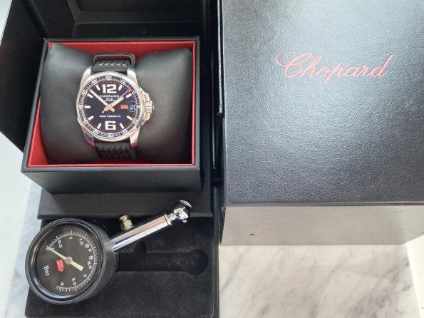 Original Chopard Mille Miglia FULL FULL Set Box Papers GMT Chronograph Automatik Automatic