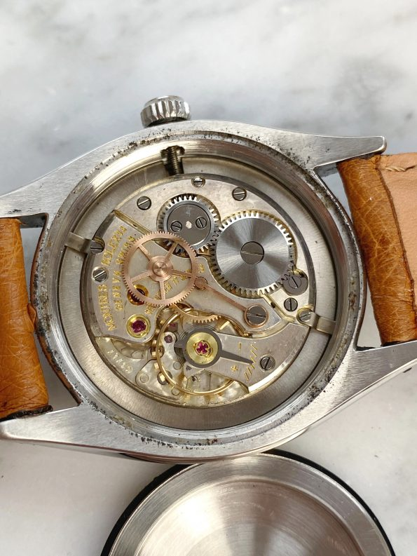 Honeycomb Dialed Rolex Oysterdate Precision Ref 6494 Vintage