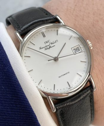 Wonderful IWC Portofino Automatic Steel White Dial