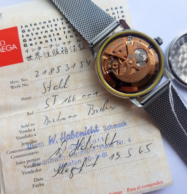 Original Papers Omega Seamaster Automatic Vintage