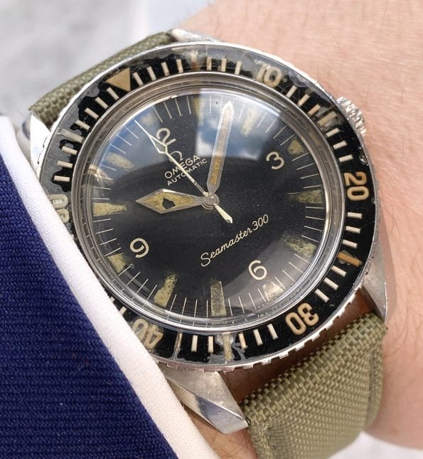 Serviced Vintage Omega Seamaster 300 Diver Automatic 165024 EXTRACT