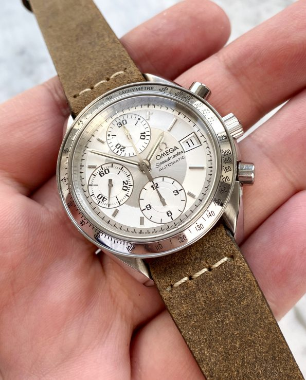Omega Speedmaster Vintage Reduced Automatic Silver Dial ORIGINAL PAPERS