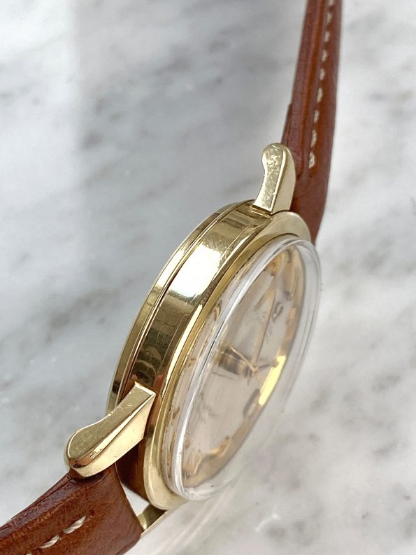 Omega Seamaster Calendar Automatic Vintage Solid Gold 14ct