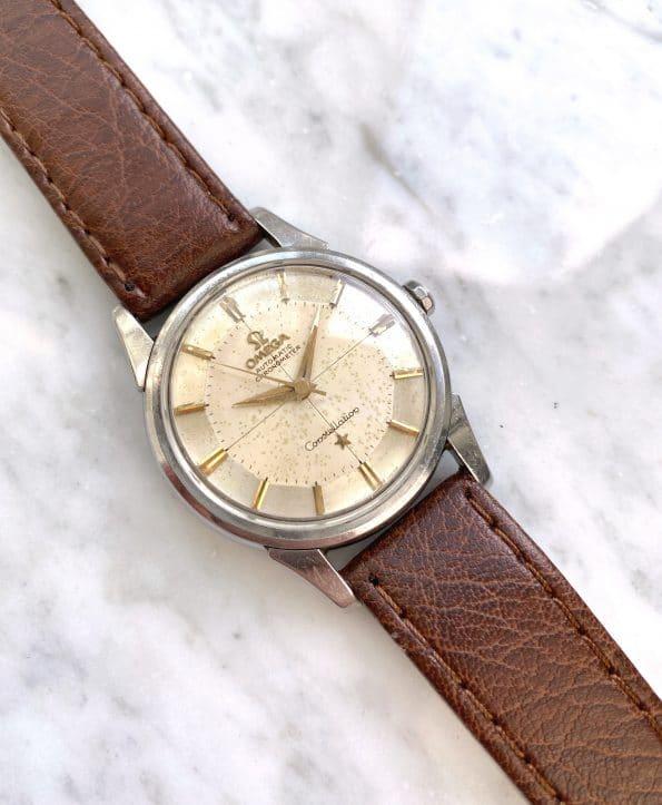 Vintage Omega Constellation Pie Pan Automatic Steel