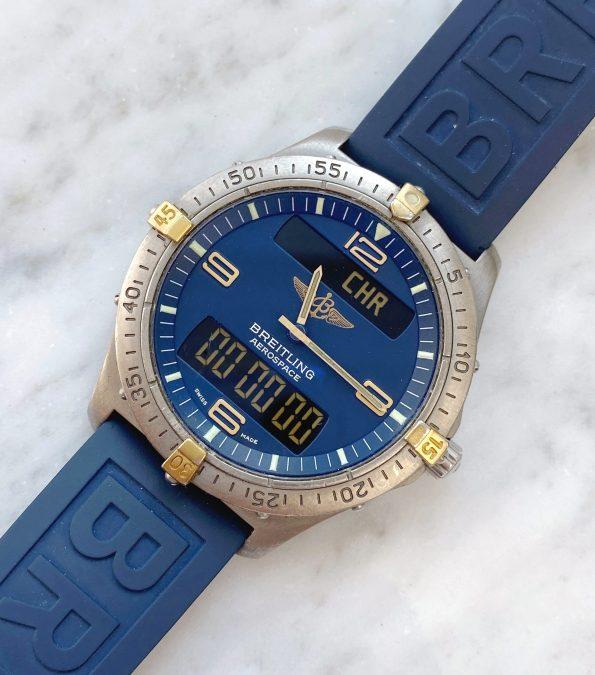 Breitling Aerospace ref f56062 Titanium 40mm