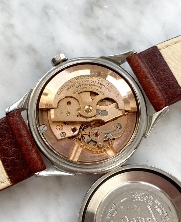 Tropical Omega Constellation Pie Pan Crosshair Explorer Dial Automatic Vintage