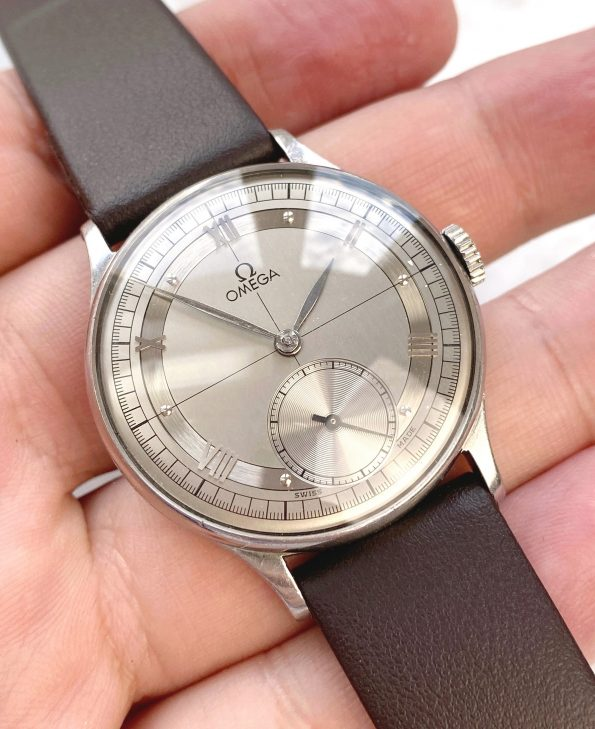 Beautiful Vintage Omega Handwinding with Two Tone Crosshair Dial 30t2