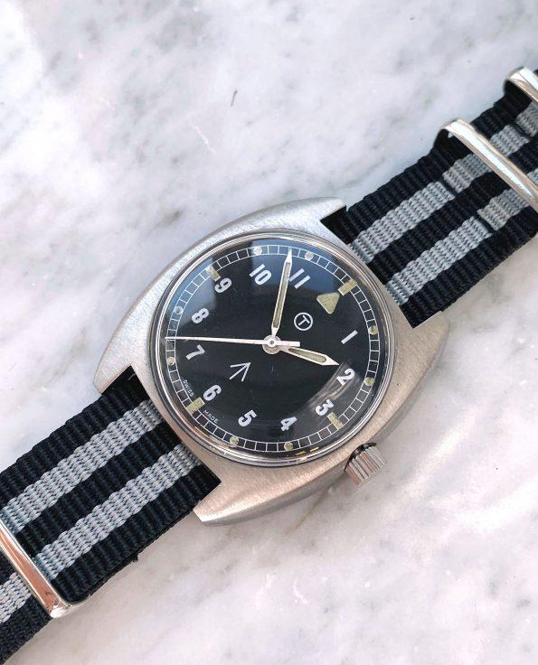 Servicierte CWC Vintage Militäruhr Broad Arrow