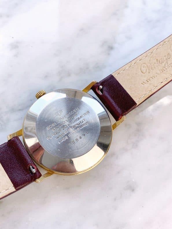 Vintage GUB Glashütte Spezimatic Automatic Gold Plated