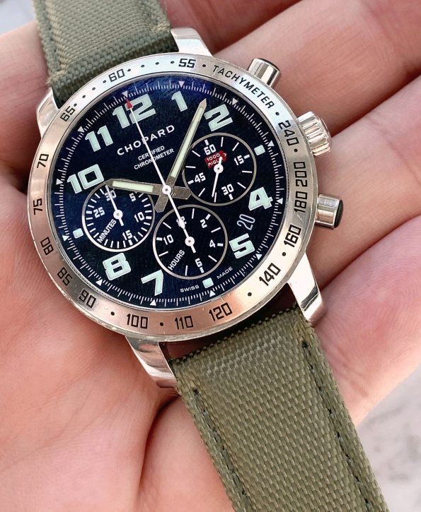 Serviced Chopard Mille Miglia 8920 Black Dial Chronograph