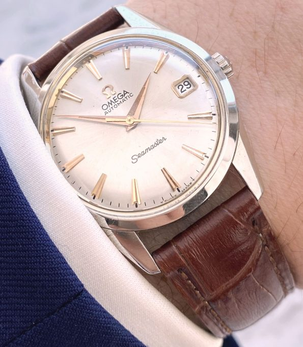 Serviced Omega Seamaster Automatic Vintage Date 14704
