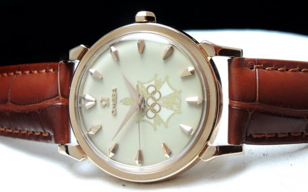 Omega Seamaster XVI Olympic Games Melbourne 1956 ROSE gold