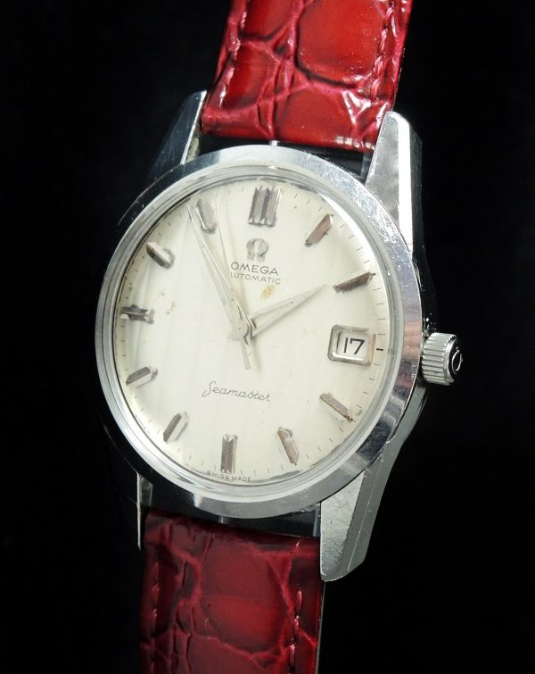 Serviced Omega Seamaster Automatic Vintage Fishbone dial