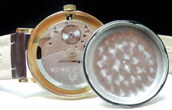 Vintage Glashütte Spezimatic Automatik black dial