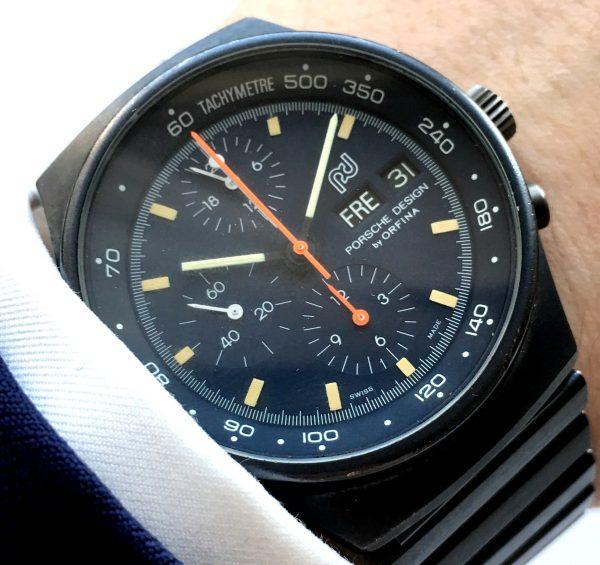 Original Porsche Design Day Date Chronograph PVD
