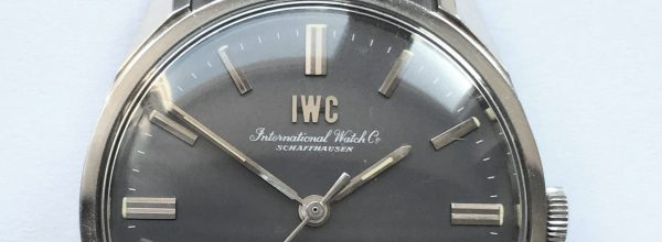 Razorsharp 35mm IWC Schaffhausen Steel Grey Dial