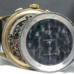Vintage Heuer Chronograph black dial Breguetnumbers Vintage