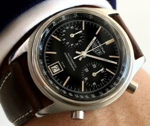 Serviced Heuer Verona Automatic Chronograph Vintage