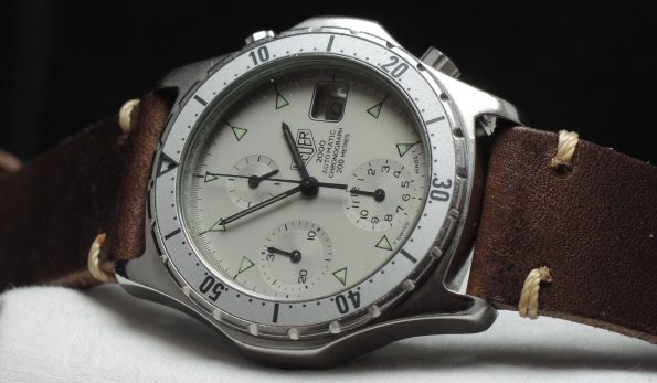 Heuer 2000 Automatic Chronograph Diver Watch