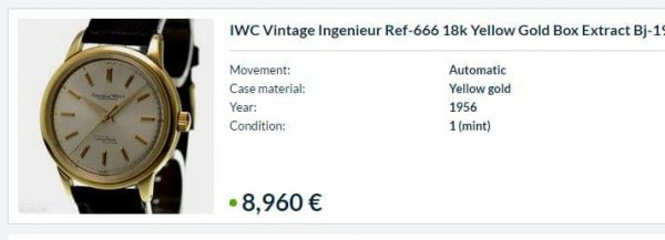Cheap IWC Ingenieur 18ct solid gold Vintage Pie Pan Anti Magnetic