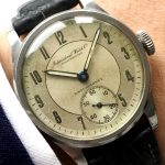 Serviced IWC Calatrava Antimagnetic with Extract of Archieves
