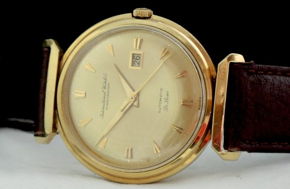 IWC Schaffhausen de Luxe Automatic 18 carat solid gold Date
