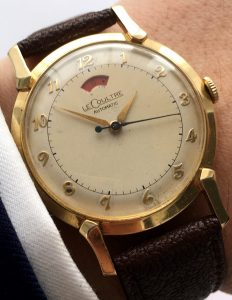 Jaeger Lecoultre Powermatic Vollgold Power Reserve Automatik