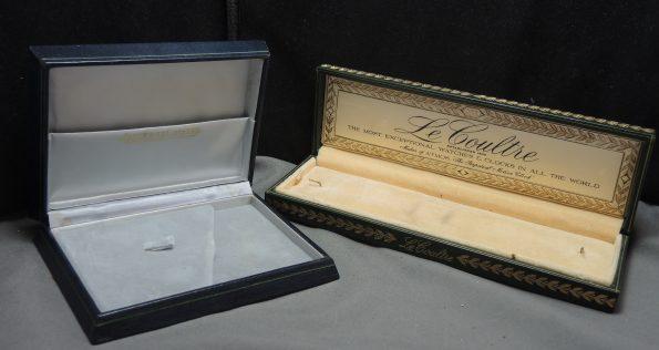 Superrare Original Jaeger LeCoultre Boxes