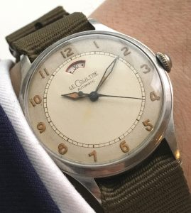 Original Jaeger Le Coultre Power Reserve Rail dial