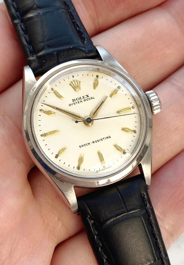 Refurbished Vintage Rolex ref 6444 Steel