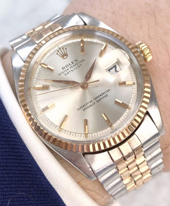 Extremely Rare and Early Rolex Datejust Steel/Rose Gold dating back to 1963
