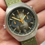 k28a Heuer Carrera Vintage brown dial (14)
