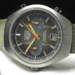 k28a Heuer Carrera Vintage brown dial (3)