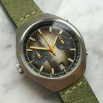 k28a Heuer Carrera Vintage brown dial (8)