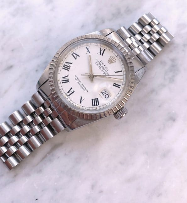 Rare Vintage Rolex Datejust Buckley Dial 36mm Automatic