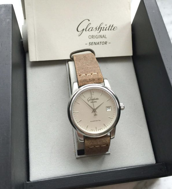 Glashütte Original Senator Classic Box Papers