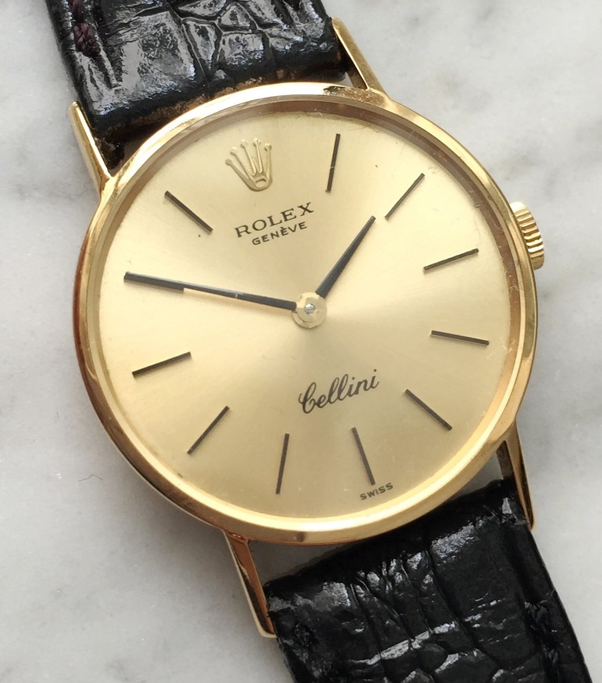 Rolex Cellini Ladies 18k Yellow Gold Vintage