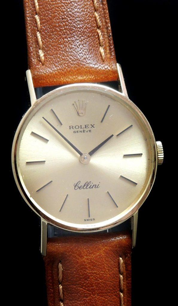 Rolex Cellini Ladies 18k Yellow Gold Vintage