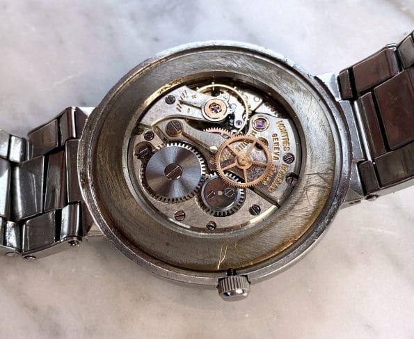 Vintage Rolex Restored Black Honeycomb Dial ref 9083
