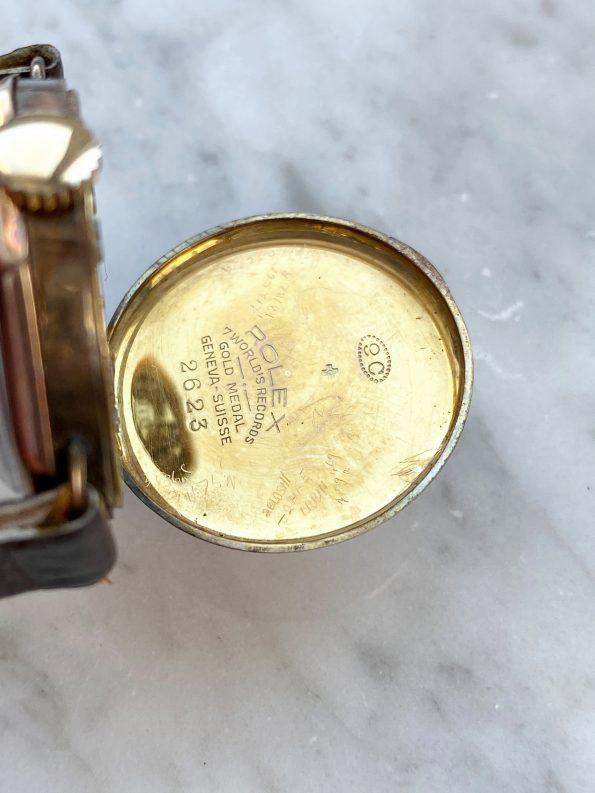 Vintage Rolex Lady Art Deco 9ct Solid ROSE Gold