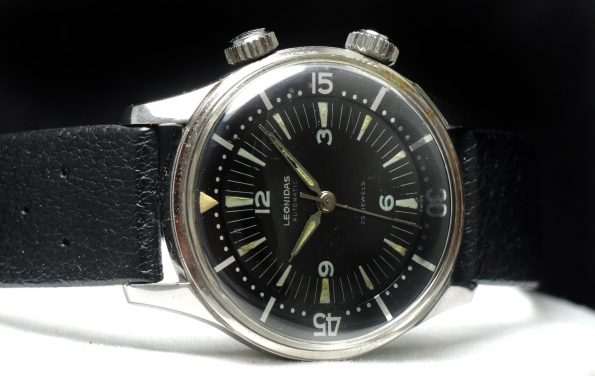 Rare Leonidas Vintage Divers Watch Automatic