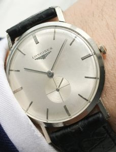 Superseltene Longines Uhr in Weissgold - 33mm - Unisex