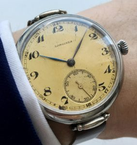 40mm Oversize Jumbo ww1 wk1 Longines Military watch