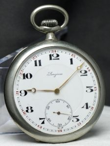 Serviced Longines Pocket Watch Vintage